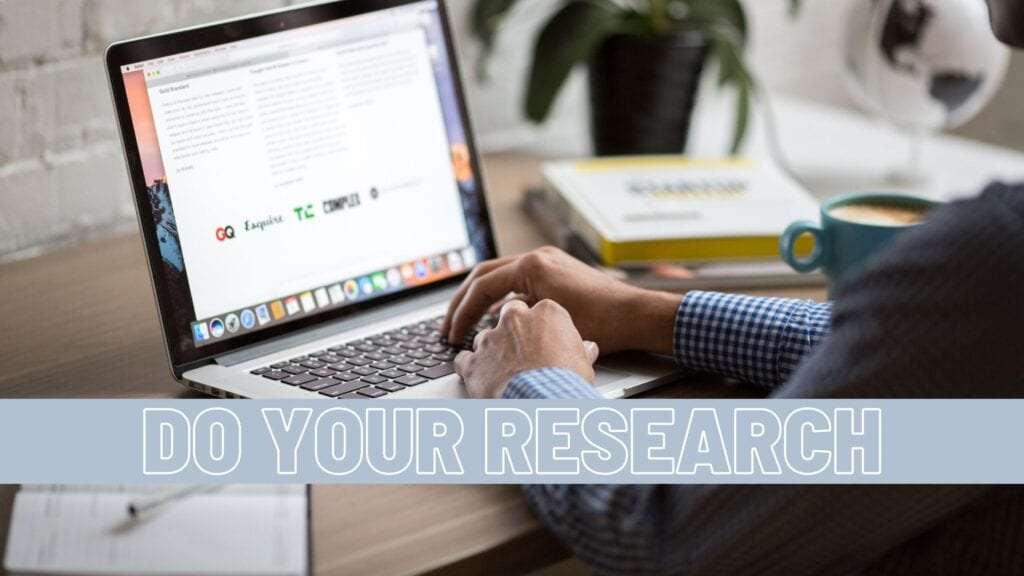 Do your Research Tip Graphic