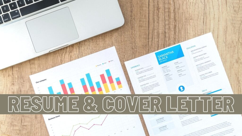 Resume and Cover Letter Tip Graphic